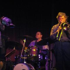 2006 at The Cowboy Monkey Tom (Shab) Wirtel, Jeff Magby and Morgan