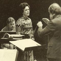 CCP (Contemporary Chamber Players - University of Illinois), Edwin London, conductor - Los Vegas contemporary Music Festival, 1974