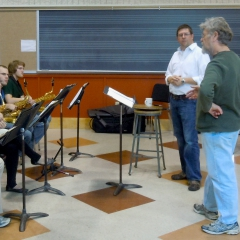 Guest composer, Southern Illinois University, 2011