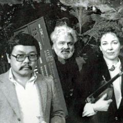 Morgan, Ray, Sal Martirano, and Dorothy Martirano on tour in Florida 1991