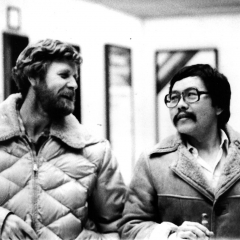 Morgan and Ray Sasaki - Washington D.C. 1981