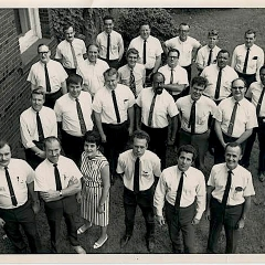 Staff of Stan Kenton Clinics, ca. 1960