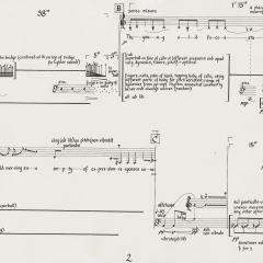 Faces, for soprano and cello, 1973
