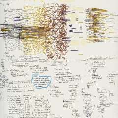 Sketch for score of Maborosi, 2004
