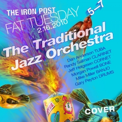 TJO Fat Tuesday poster by Kerry Helms