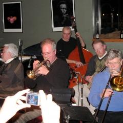 TJO with Jeff Helgesen, cornet, Armand Beaudoin, bass