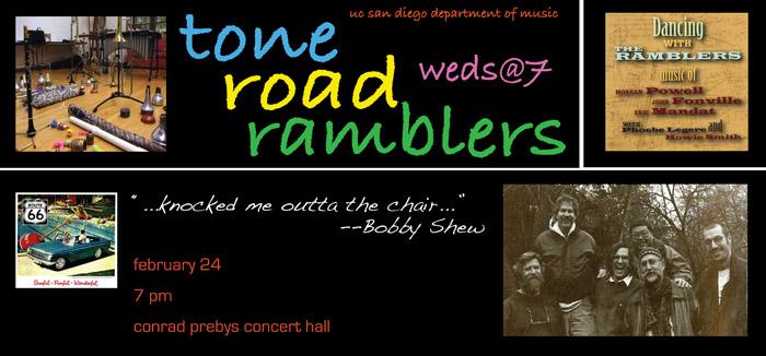 Tone Road Ramblers poster